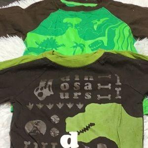 2 circo dinosaur shirts